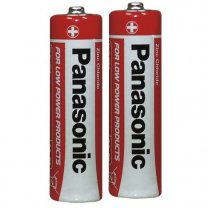 Panasonic - 2 pak AA Powerline batterier