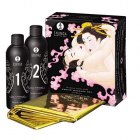 Shunga Body Slide - Erotic Massage Gel - jordbær