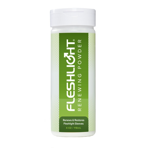 Fleshlight Renewing Powder - 118 ml - til at holde din Fleshlights Superskin frisk og nyt